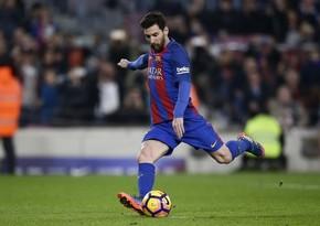 Messi karyerasında 300-cü məhsuldar ötürməsini edib