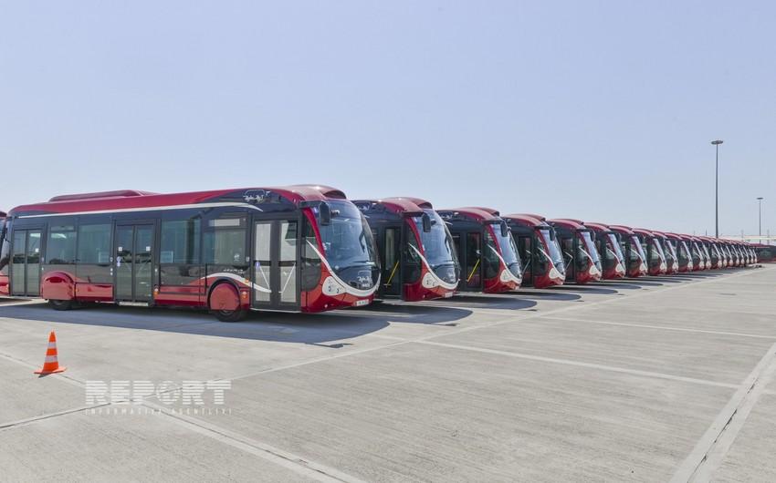 Bakıda avtobusların hərəkət qrafiki haqqında onlayn xəbər veriləcək