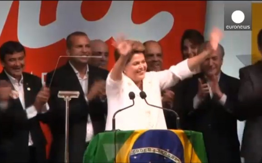 Current President of Brazil Dilma Rousseff elected for a second term