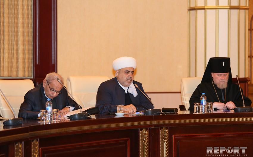 Руководители религиозных конфессий Азербайджана приняли обращение в поддержку кандидатуры президента Ильхама Алиева - ДОПОЛНЕНО