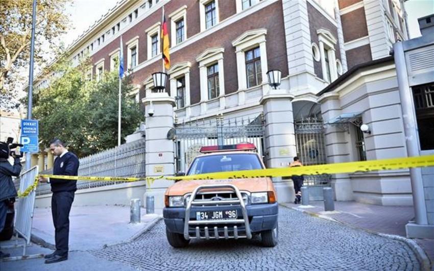 İstanbulda polis Almaniya baş konsulluğunu nəzarətə götürüb