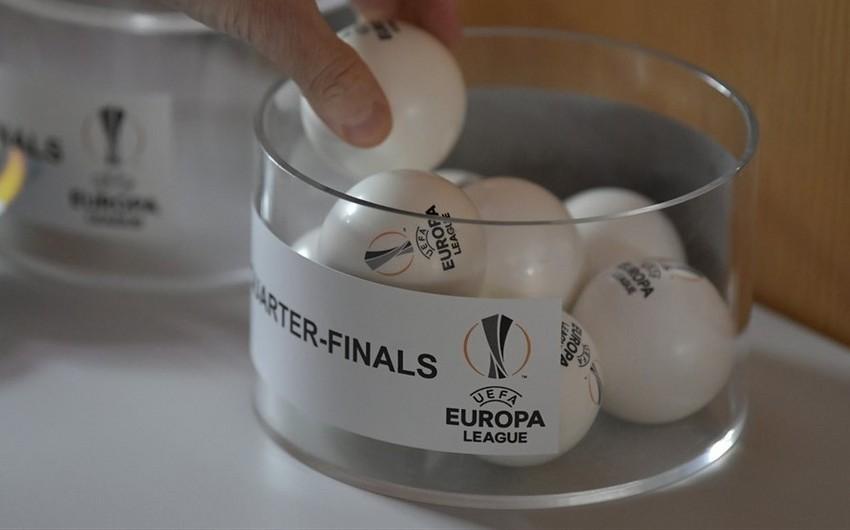 Beşiktaş klubunun Avropa Liqasının 1/4 final mərhələsindəki rəqibi müəyyənləşib
