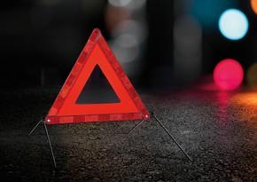 В Абшероне столкнулись два автомобиля, есть пострадавший