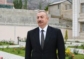 İlham Əliyev: Tarixi Zəfərdən sonra mütləq ulu öndərin Vətənində olmalı idim