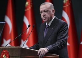 """Türkiyə Prezidenti: """"Qarabağda haqq batilə qalib gəldi"""""""