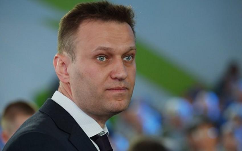 Rusiyalı siyasətçi Aleksey Navalnı həbs edilib