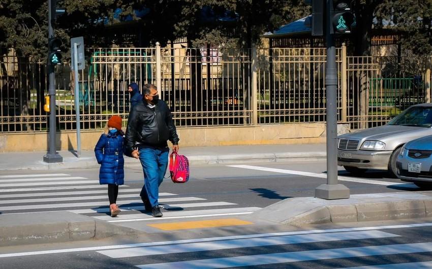 В шести районах Баку усилена безопасность пешеходов