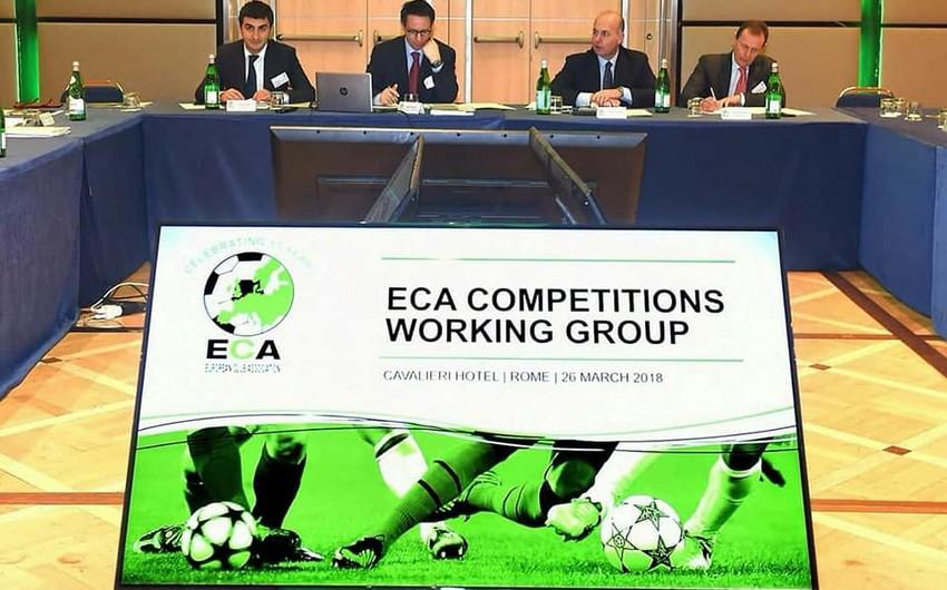Qarabağ və Neftçinin nümayəndələri ECA Baş Assambleyasında iştirak ediblər