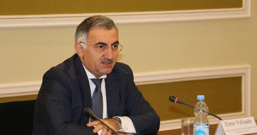 Elmir Velizade dismissed from his post