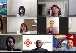 Состоялась онлайн встреча представителей туризма Азербайджана и Грузии