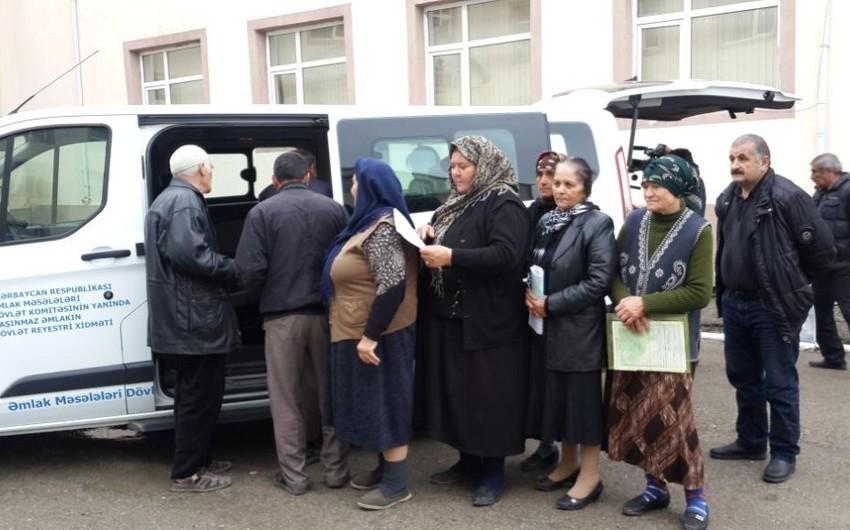 """Şamaxıda 200 vətəndaş Kütləvi çıxarış"""" kampaniyasından yararlanıb"""