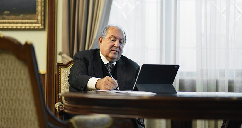 Armenian President to be on short leave in Moscow
