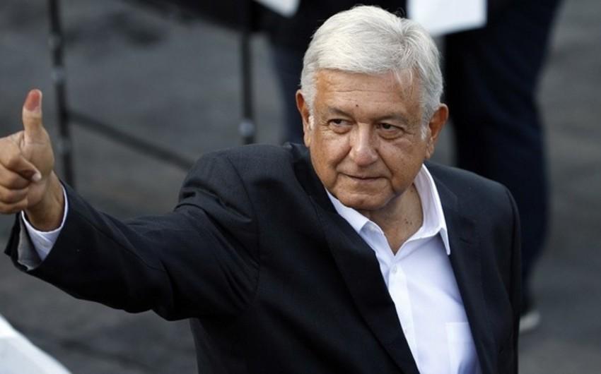 Meksika prezidenti ABŞ-la dostluq münasibətlərini davam etdirməyə hazır olduğunu bildirib
