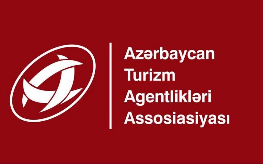 Azərbaycan Turizm Agentlikləri Assosiasiyasıturizm şirkətlərinə müraciət edib
