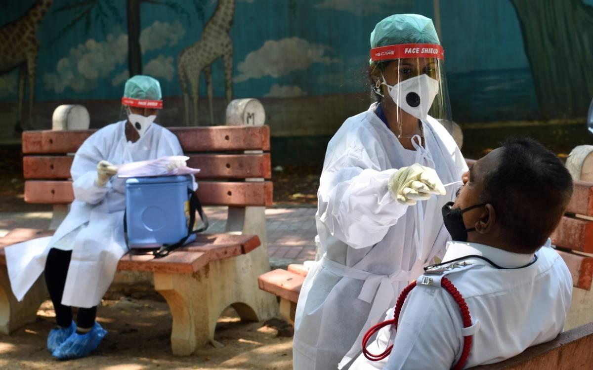 Hindistanda koronavirusa yoluxanların sayı 740 mini ötdü