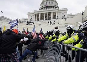 В Вашингтоне при беспорядках пострадали полицейские