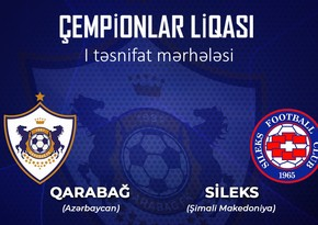 Azerbaijani FC Garabagh starts  competing in UEFA Champions League