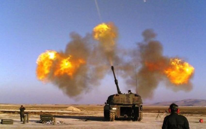 Türkiyə Suriyada PKK mövqelərinə raket zərbələri endirib