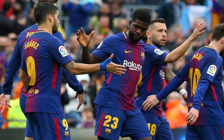 Футболисты Барселоны установили рекорд по числу матчей без поражений