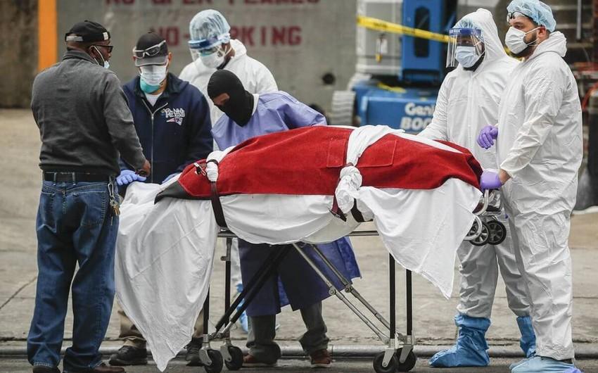 Nyu-Yorkda hər gün koronavirusdan təxminən 200 nəfər ölür
