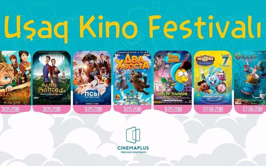 """""""CinemaPlus"""" kinoteatrlar şəbəkəsi """"Yay Uşaq Kino Festivalı"""" keçirəcək"""