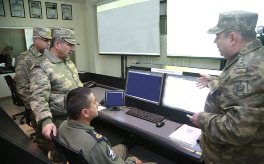 New Combined Command Post of Azerbaijani Air Forces put into operation