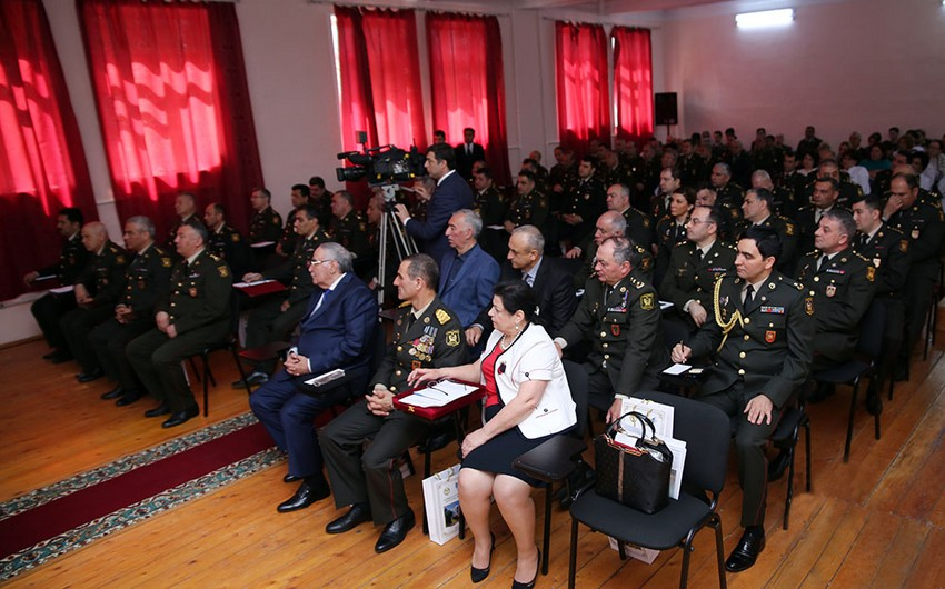 An event was held over 25th anniversary of establishment of Armed Forces Main Clinical Hospital