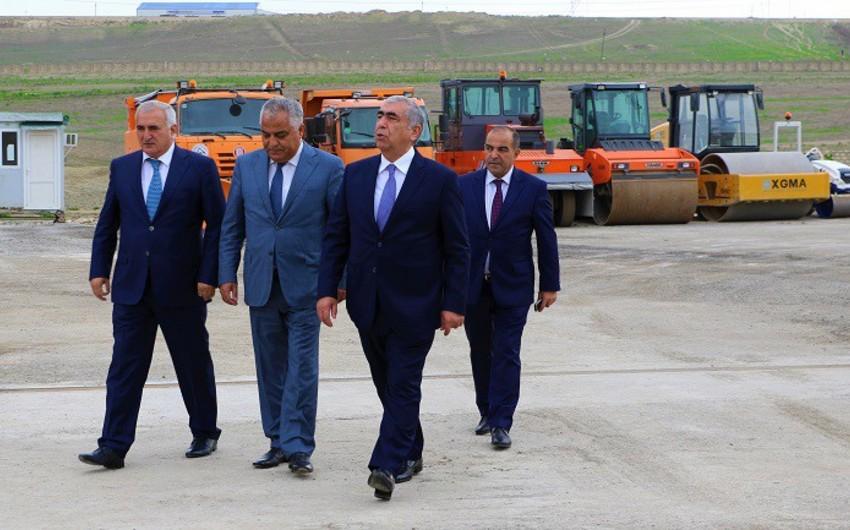 """""""Azəravtoyol"""" ASC-nin yeni istehsalat bazası fəaliyyətə başlayıb - FOTO - VİDEO"""