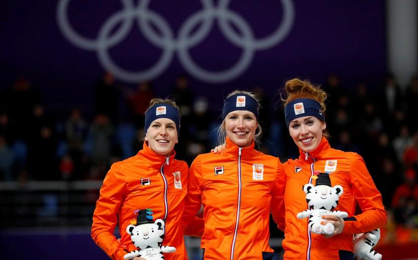 Olimpiada-2018: Almaniya liderliyini qoruyub, Norveç irəliləyib - CƏDVƏL