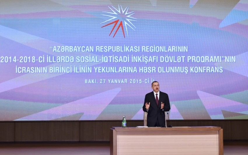 """Prezident İlham Əliyev: """"Məmurlar yaddan çıxarmamalıdırlar ki, onlar xalqın xidmətçiləridir"""""""