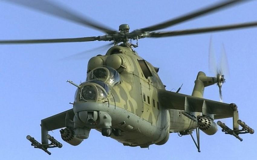Liviyada hərbi helikopter qəzaya uğrayıb, 5 nəfər ölüb