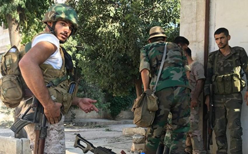 Suriya Hərbi Qüvvələrinin komandanlığı 7 günlük sükut rejimi elan edib