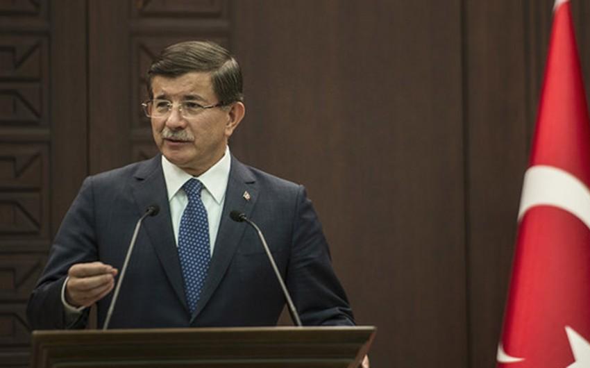 Davutoğlu: Turkey killed 200 Daesh terrorists in Iraq, Syria