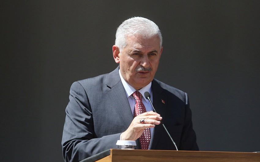 """Türkiyənin baş naziri: """"Referendum""""un barış və sabitliyə heç bir təsiri olmayacaq"""""""