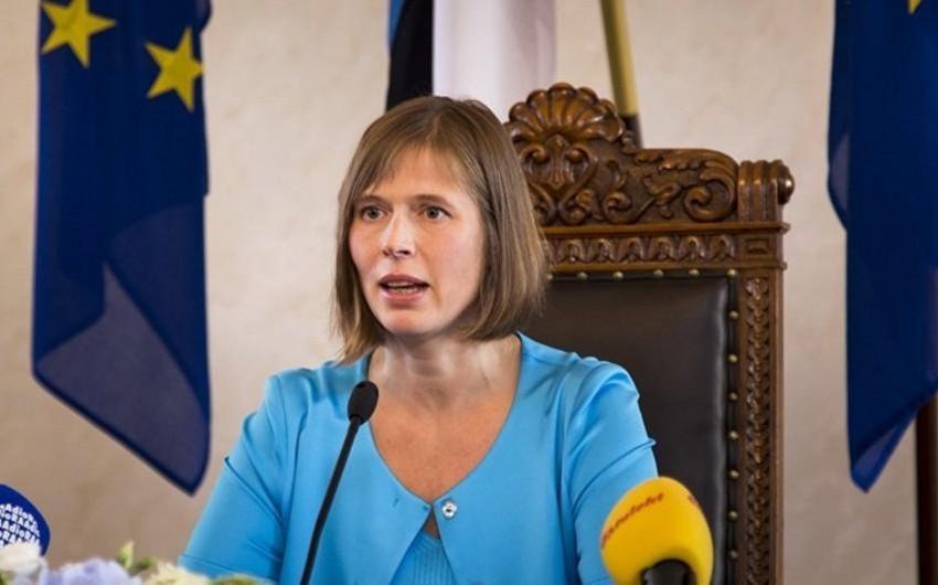 Президент Эстонии назвала Россию сложным соседом