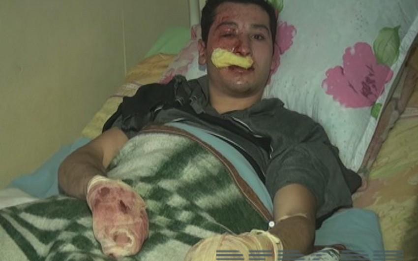 Həkim: Balakəndə partlayış zamanı yaralananların vəziyyəti nisbi kafidir - FOTO - VİDEO