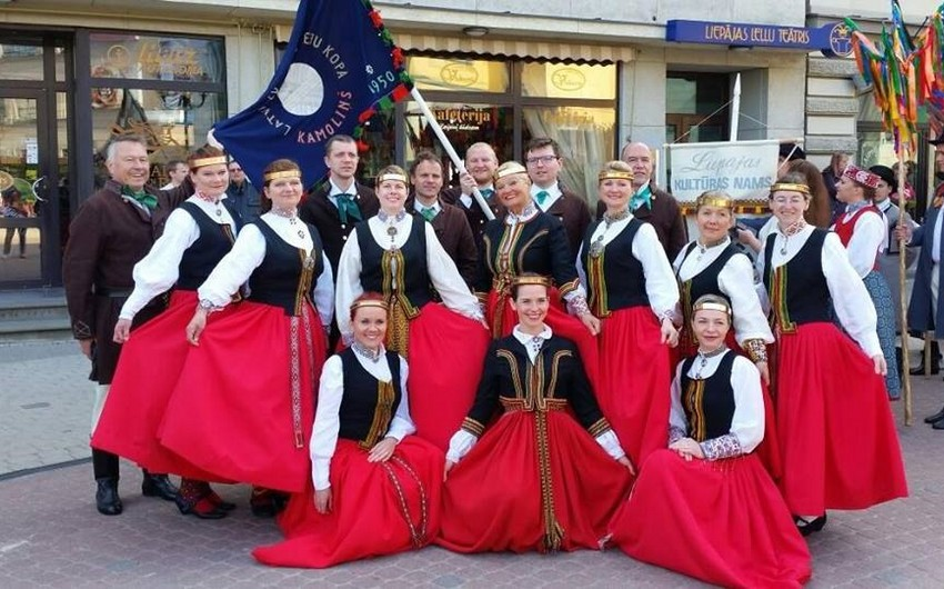 Latvian folk dances to be shown in Baku