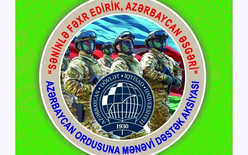 Azərbaycan Ordusuna mənəvi dəstək aksiyasına start verilib - FOTO