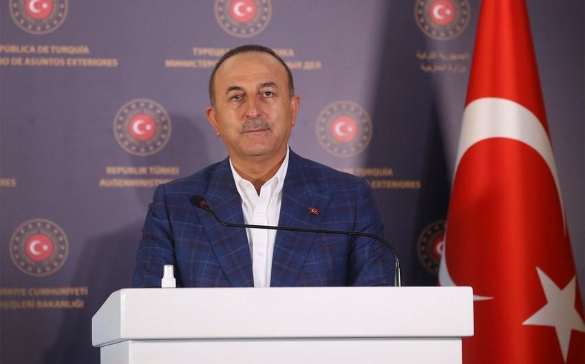 """Çavuşoğlu: """"Qarabağ üzrə Monitorinq Mərkəzi təmas xəttindən 8 km məsafədə olacaq"""""""