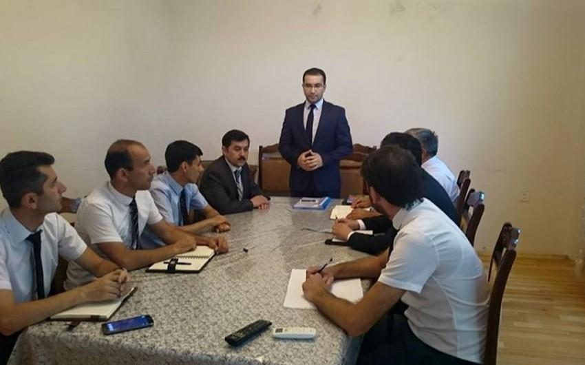 Dini Komitə bölgə əməkdaşları üçün seminar-treninq keçirib