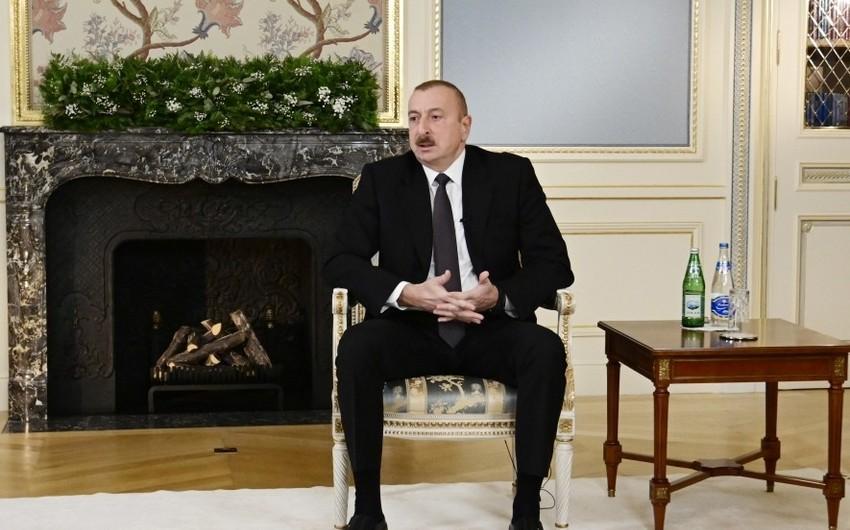 İlham Əliyev: Mən baş nazir Paşinyana bir növ imkan verdim ki, o, bu çirkin əməli öz boynuna almasın