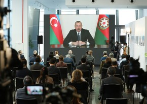 President Ilham Aliyev holds press conference
