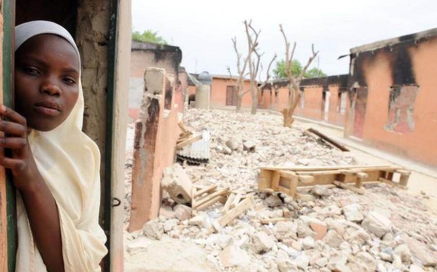 Nigeriyada məcburi köçkünlərin sayı 850 mini ötüb