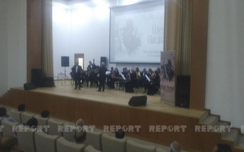 Ağdamda Üzeyir Hacıbəyli XIII Beynəlxalq Musiqi Festivalı keçirilib