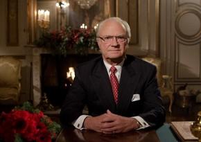 Король Швеции направил письмо президенту Азербайджана