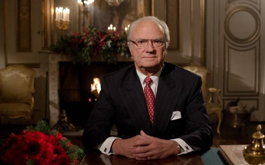 King of Sweden sends letter to President of Azerbaijan