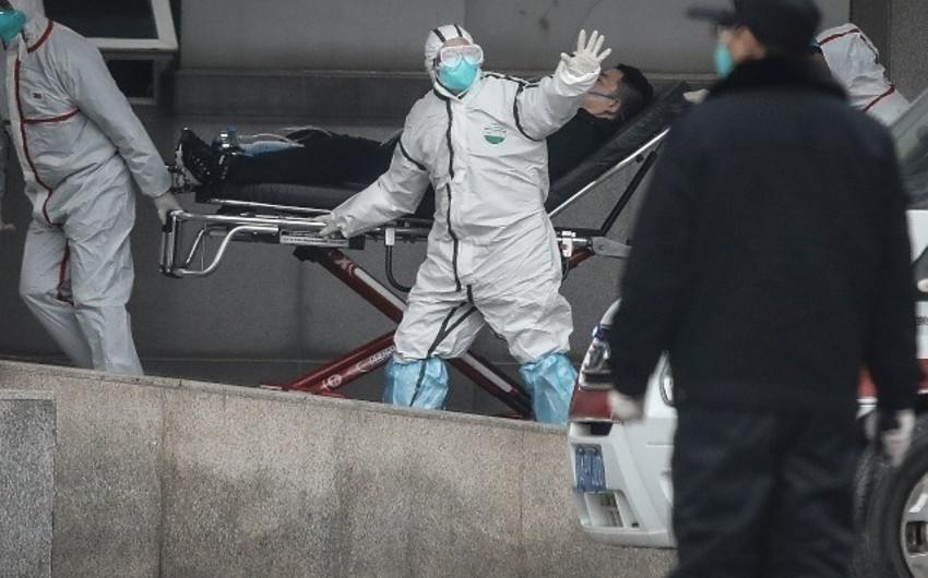 Çindən kənarda koronavirusa yoluxanların sayı açıqlandı