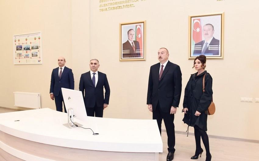 Президент Ильхам Алиев ознакомился с проделанной и предстоящей работой в Баку Белом городе