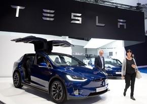 """""""Tesla""""nın səhmləri xeyli ucuzlaşdı"""