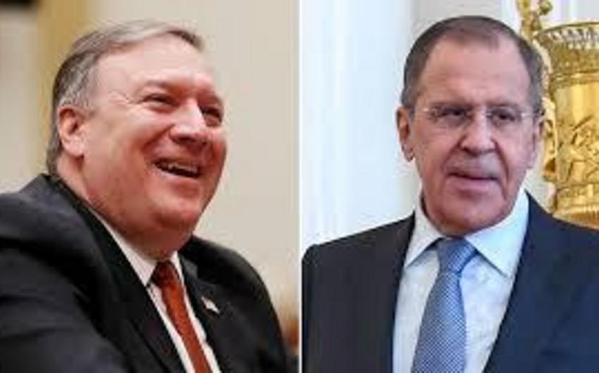 Rusiya XİN: Lavrov və Pompeo arasında görüş razılaşdırılıb